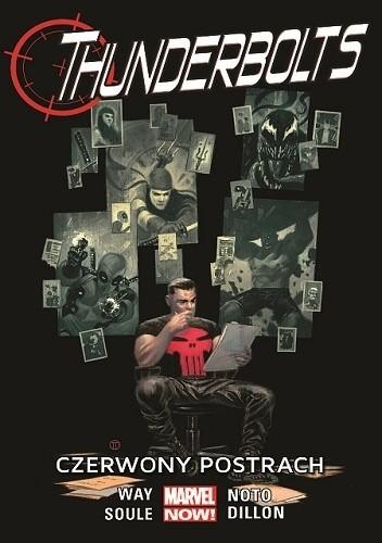 Okładka książki Thunderbolts: Czerwony postrach