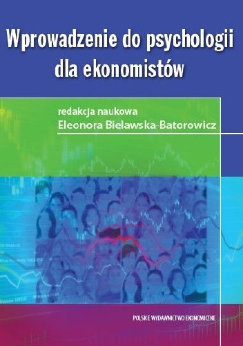 Okładka książki Wprowadzenie do psychologii dla ekonomistów