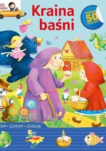 Okładka książki Kraina baśni. Dzieci w podróży