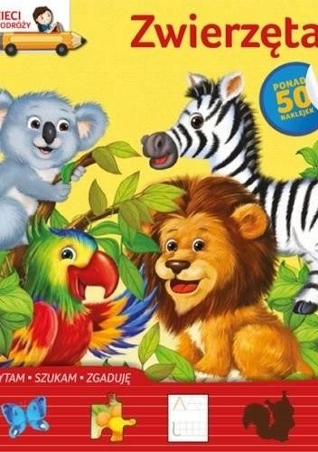 Okładka książki Zwierzęta. Dzieci w podróży