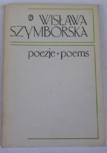 Okładka książki Poezje. Poems