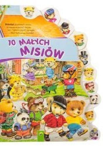 Okładka książki 10 małych misiów