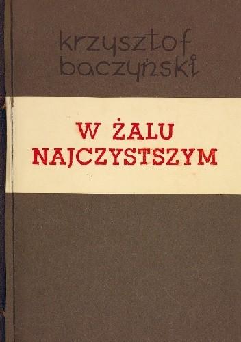 Okładka książki W żalu najczystszym