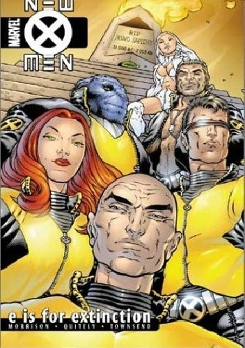 Okładka książki New X-men, Vol. 1: E is for Extinction
