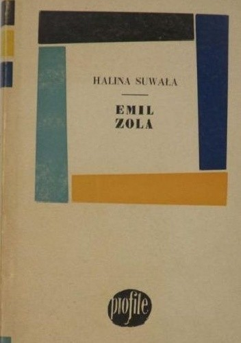 Okładka książki Emil Zola