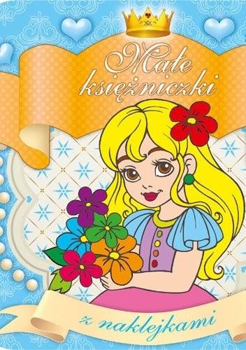 Okładka książki Małe księżniczki z naklejkami 2