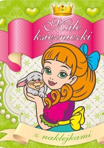 Okładka książki Małe księżniczki z naklejkami 4