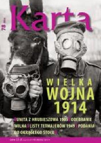 Okładka książki Karta. Kwartalnik historyczny, nr 78/2014