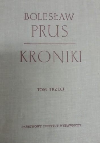 Okładka książki Kroniki. Tom trzeci
