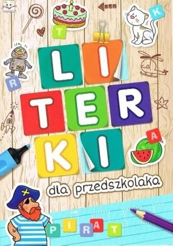 Okładka książki Literki dla przedszkolaka