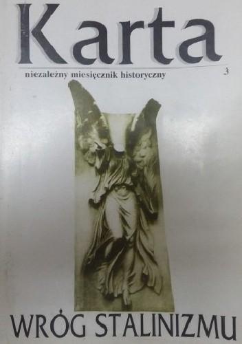 Okładka książki Karta. Niezależny miesięcznik historyczny, nr 3/1991