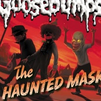 Okładka książki The Haunted Mask