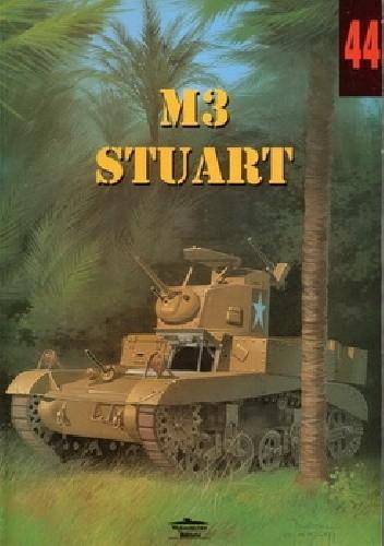 Okładka książki M3 Stuart