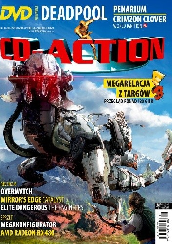 Okładka książki CD-Action 08/2016