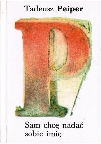 Okładka książki Sam chcę nadać sobie imię