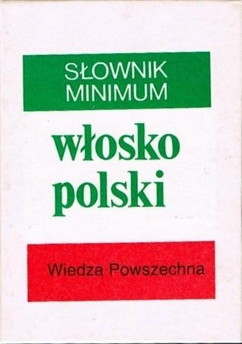 Okładka książki Słownik minimum włosko polski
