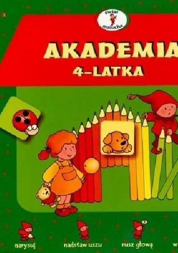 Okładka książki Akademia 4-latka