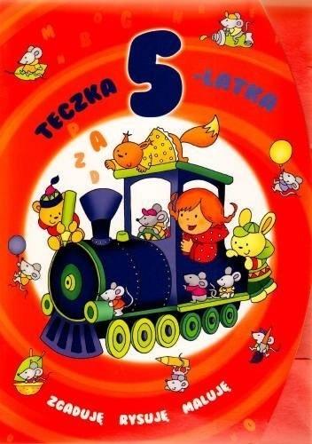 Okładka książki Teczka 5-latka. Zgaduję, rysuję, maluję