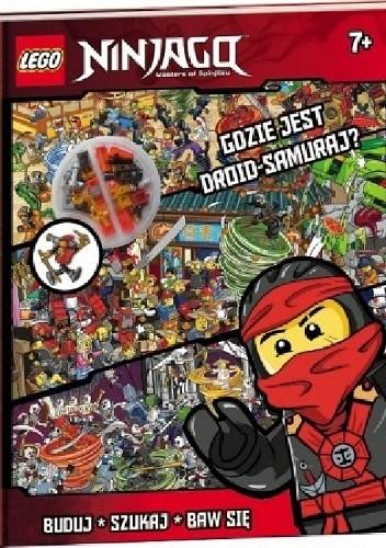 Okładka książki Lego Ninjago. Gdzie Jest Droid-Samuraj?
