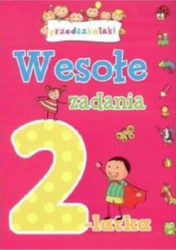 Okładka książki Wesołe zadania 2-latka. Przedszkolaki