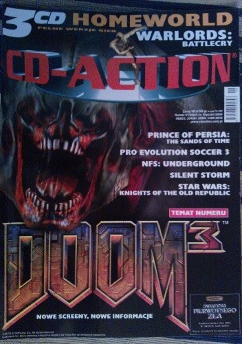 Okładka książki CD-Action 01/2004