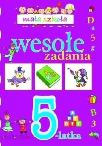 Okładka książki Wesołe zadania 5-latka. Mała szkoła