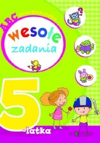 Okładka książki Wesołe zadania 5-latka. ABC przedszkolaka