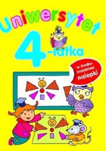 Okładka książki Uniwersytet 4-latka