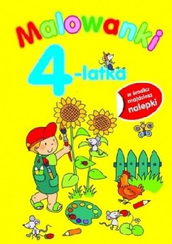Okładka książki Malowanki 4-latka