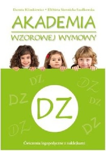 Okładka książki Akademia wzorowej wymowy DZ