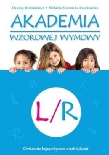 Okładka książki Akademia wzorowej wymowy L/R