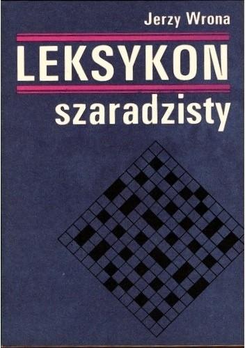 Okładka książki Leksykon szaradzisty