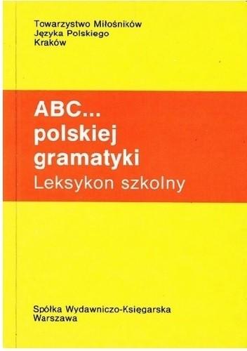 Okładka książki ABC... polskiej gramatyki