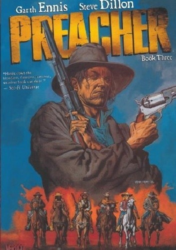Okładka książki Preacher Book Three