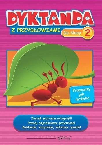Okładka książki Dyktanda z przysłowiami do klasy 2