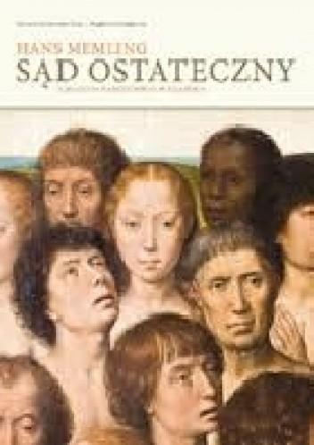 """Okładka książki Hans Memling """"Sąd Ostateczny"""" z Muzeum Narodowego w Gdańsku"""