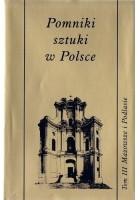 Pomniki sztuki w Polsce. Mazowsze i Podlasie
