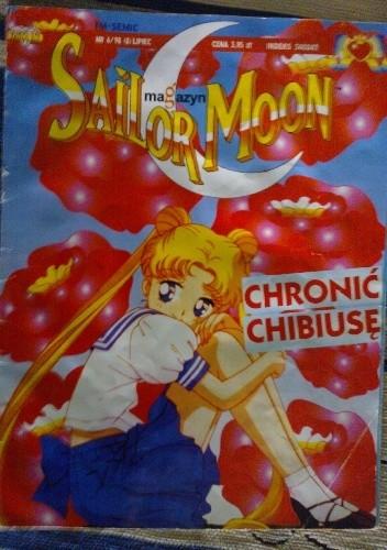 Okładka książki Sailor Moon magazyn nr 6/98