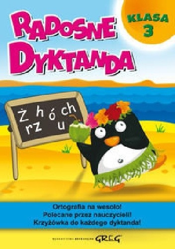 Okładka książki Radosne dyktanda. Klasa 3