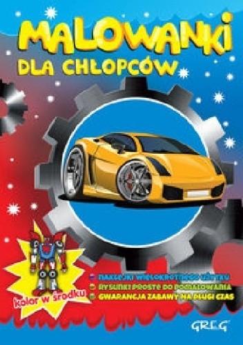 Okładka książki Malowanki dla chłopców