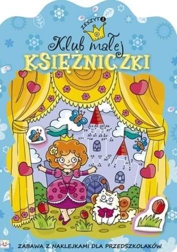 Okładka książki Klub małej księżniczki. Zeszyt 1
