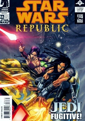Okładka książki Star Wars: Republic #54