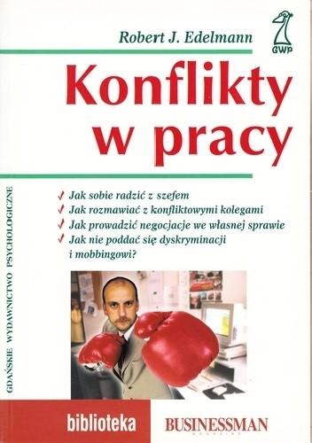 Okładka książki Konflikty w pracy