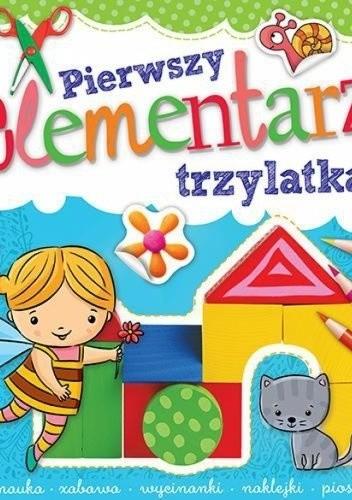 Okładka książki Pierwszy elementarz trzylatka
