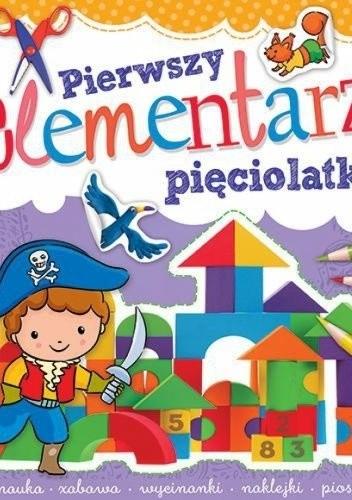 Okładka książki Pierwszy elementarz pięciolatka