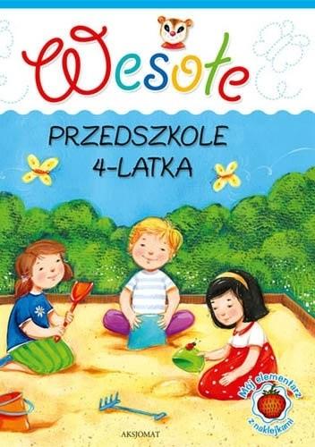 Okładka książki Wesołe przedszkole 4-latka