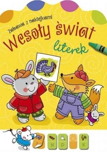 Okładka książki Wesoły świat literek