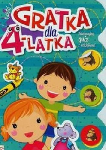 Okładka książki Gratka dla 4-latka. Część 1