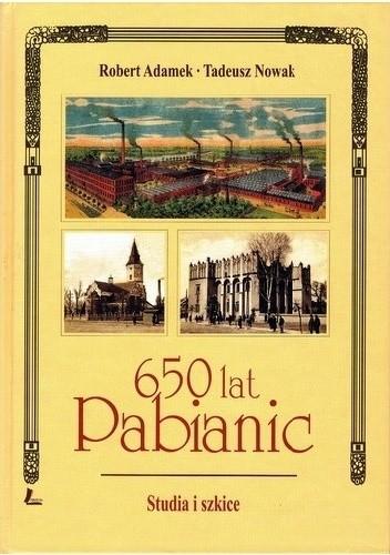 Okładka książki 650 lat Pabianic. Studia i szkice