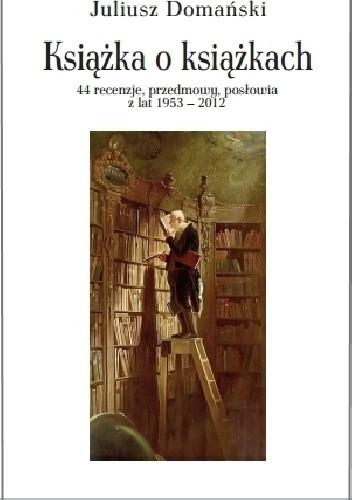 Okładka książki Książka o książkach.